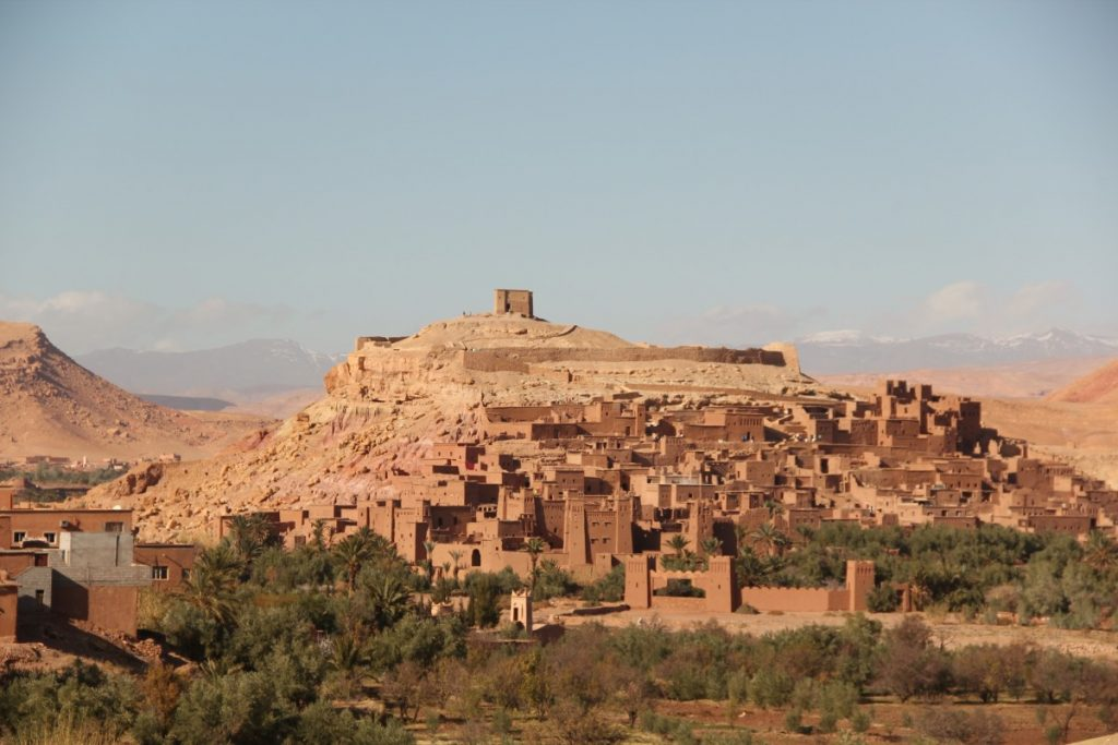 on-the-road-in-Marocco-ait-benhaddou