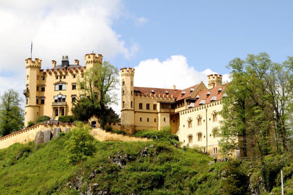 itinerario-castelli-della-baviera-in-auto-castello-Hohenschwangau