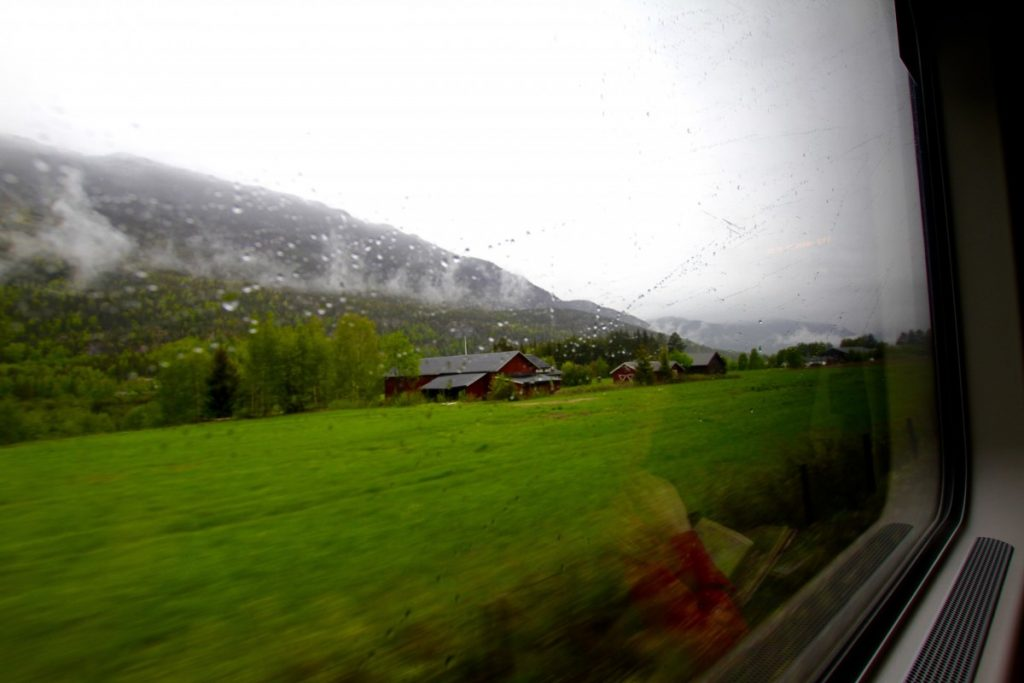 Itinerario-Norvegia-5-giorni-treno-verso -bergen