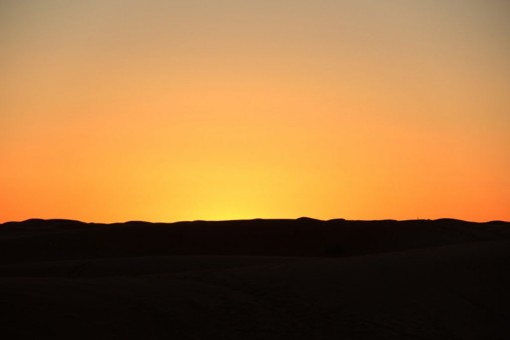 Deserto-Marocco-Erg-chebbi-deserto-tramonto
