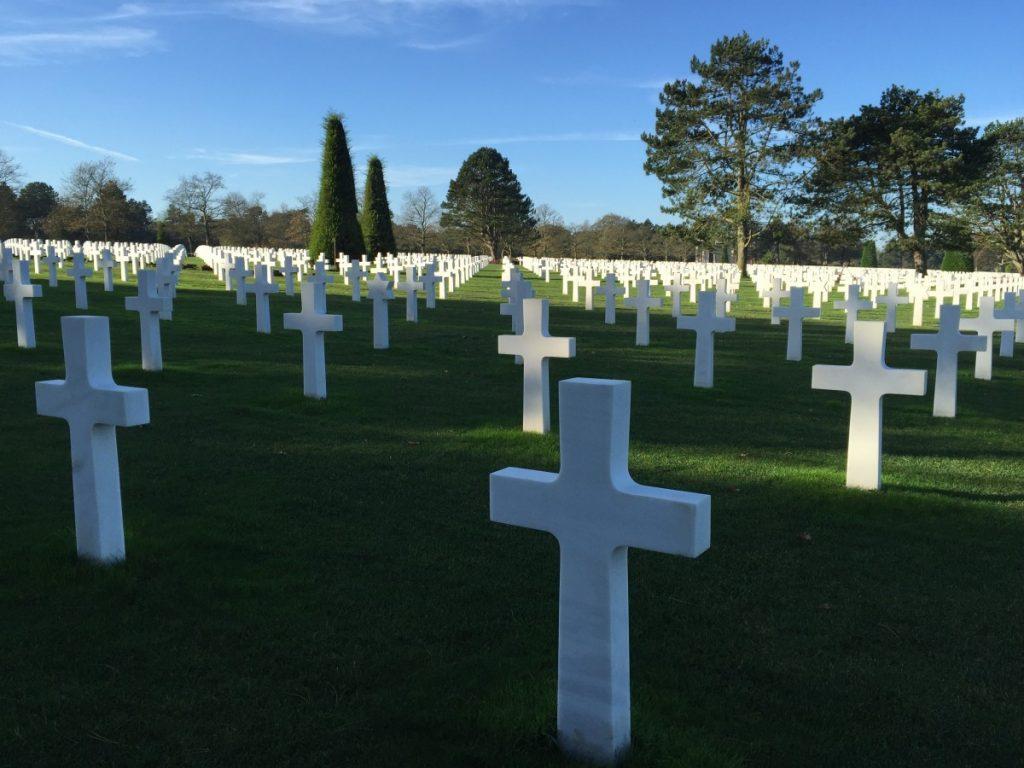 cosa-vedere-in-normandia-a-dicembre-cimitero-sbarco-in-normandia