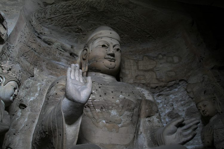 Datong-grotte-yungang-buddha
