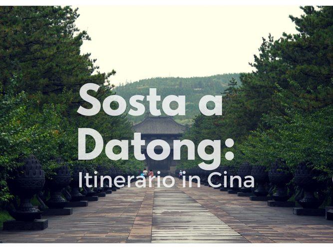 Datong - Itinerario-in-cina