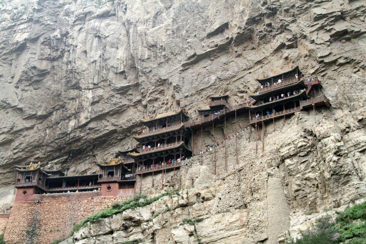 Datong-tempio-sospeso