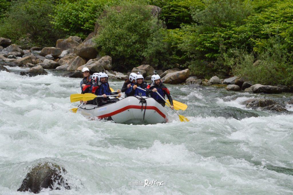 Sesia-Rafting-sul-fiume
