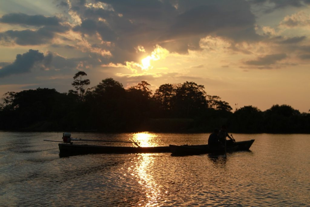 come visitare amazzonia tramonti sul rio