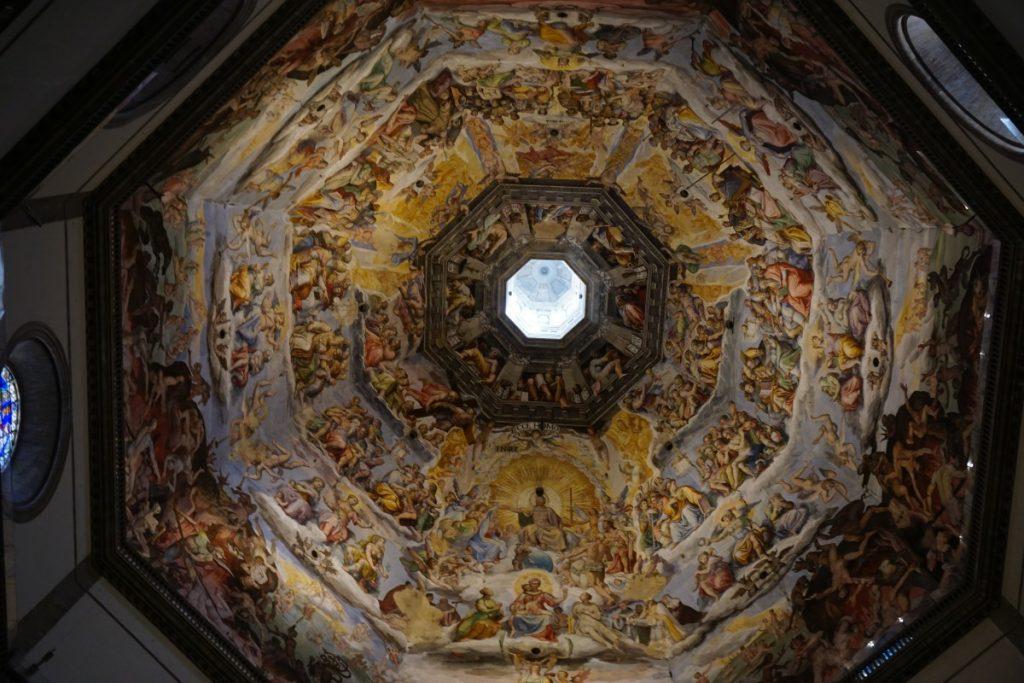 cosa-vedere-a-firenze-in-due-giorni-cupola-brunelleschi-affresco-vasari