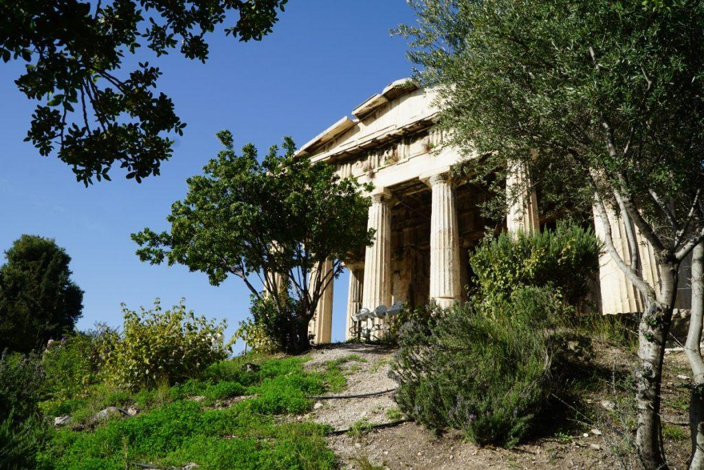 cosa-vedere-ad-atene-in-due-giorni-agorà-tempio-efesto