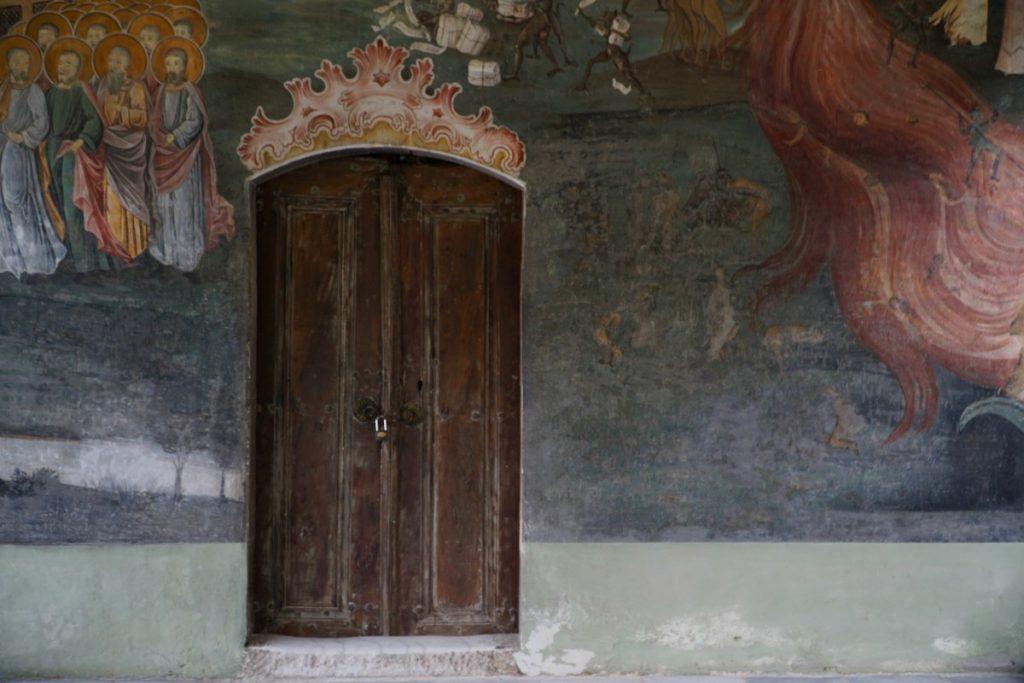 viaggio-bulgaria-visitare-monastero-di-bachkovo- chiesa-refettorio
