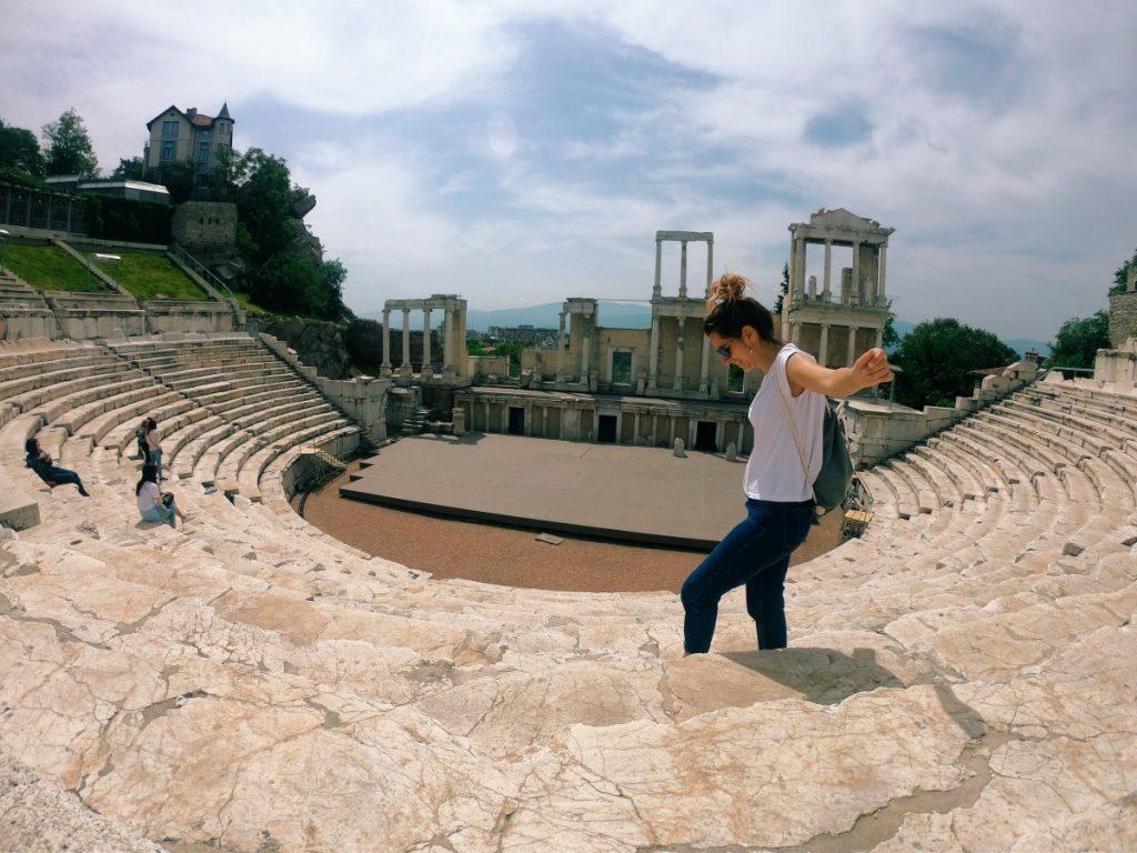 viaggio-bulgaria-visitare-plovdiv-teatro-romano