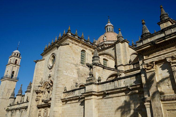 La cattedrale di San Salvador a Jerez de la Frontera
