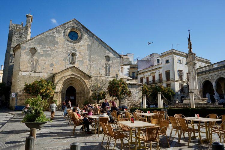 Una delle piazze più carine di Jerez de la Frontera
