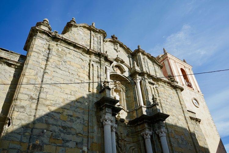 La chiesa di San Mateo nel centro storico di Tarifa