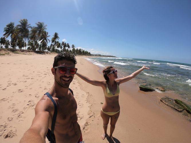 Praia do Forte a Nord di Salvador de Bahia